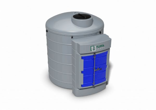 3500 Litre AdBlue Dispensing Tank - Bunded With Pump